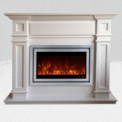 شومینه برقی هوشمند فریم چوبی ALW010